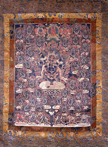 003-Una barra de tareas mandala. Pintado en textil.siglo XVIII-© The Trustees of the British Museum