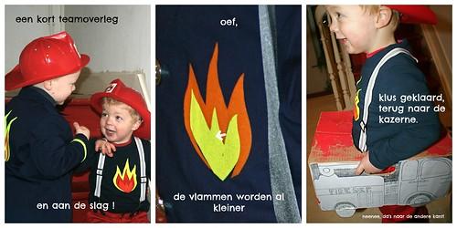 bij de brandweer