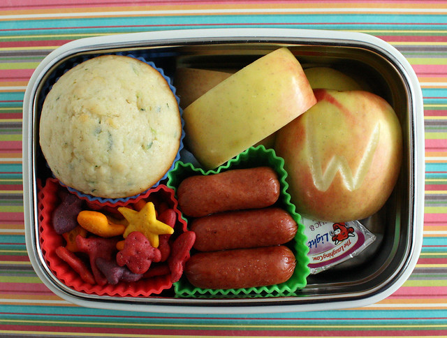 Third Grade Steeltainer Bento Lunch #709