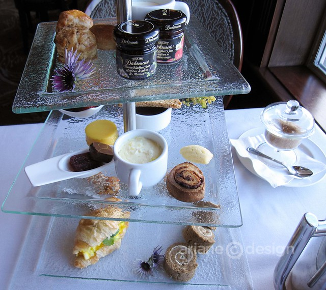 West coast afternoon tea service