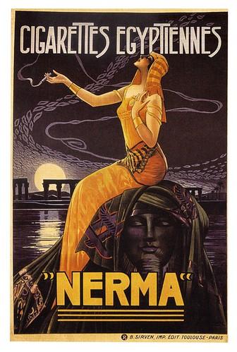 021-Publicidad cigarrilos egipcios 1924-Gaspar Camps-via etsy.com
