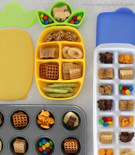nibble trays and snacks on the go