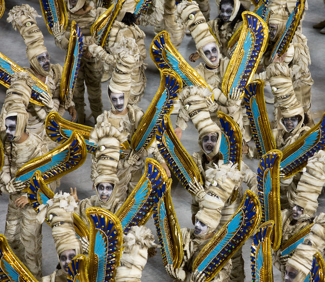 Paving the way to the afterlife, Rio de Janeiro Carnival Sambodrome