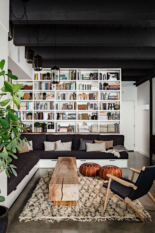 living with books | THE STYLE FILES