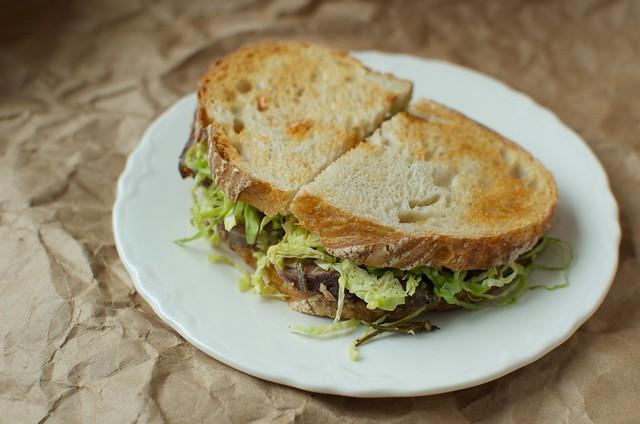 lamb sandwich