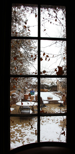 La Posada - Window to Sunken Garden