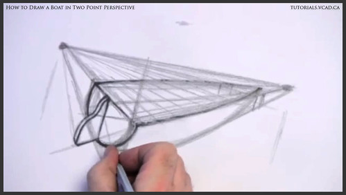 learn how to draw a boat in two point perspective 008