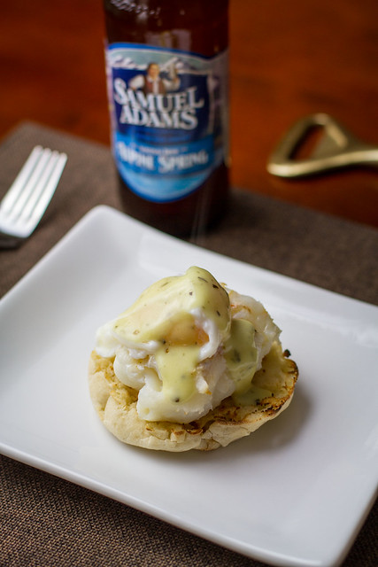Lobster Benedict with Hopped