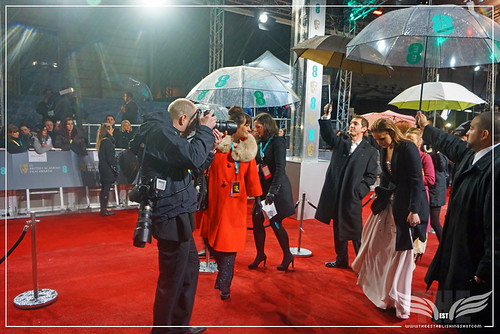 The Establishing Shot: EE BAFTAs RED CARPET JENNIFER LAWRENCE ARRIVES by Craig Grobler
