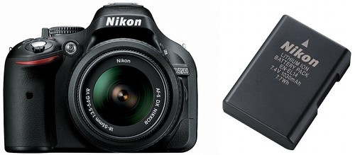 Nikon D5200 plus Nikon EN-EL14 -- Battery life