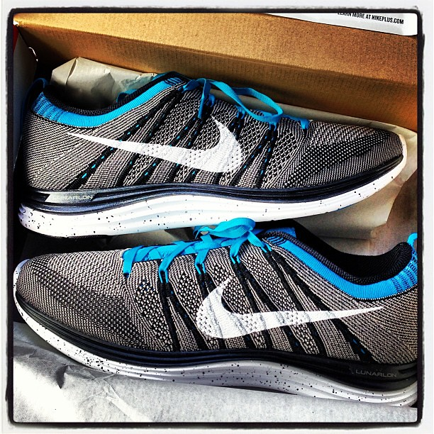 change of heart. returned the @nike #lunarglide and got the @nike #flyknit #one+ #training #gym #workout #fitness #running