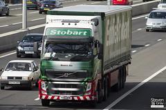 Volvo FH 6x2 Tractor - PX10 DFN - Beatrix Ella - Eddie Stobart - M1 J10 Luton - Steven Gray - IMG_8989