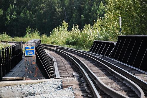 Train tracks Alaska