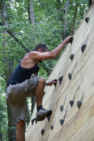 More Climbing Wall