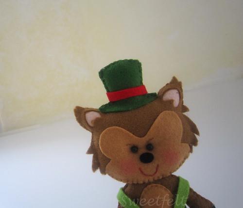 ♥♥♥ Quem tem medo do Lobo Mau? by sweetfelt \ ideias em feltro