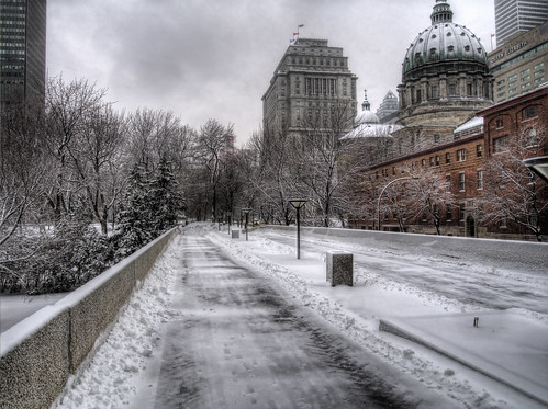 Montreal In the snow