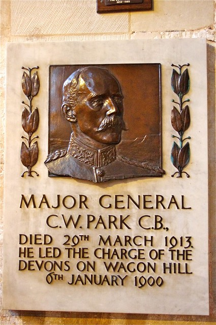 Plaque to Major General C. W. Park