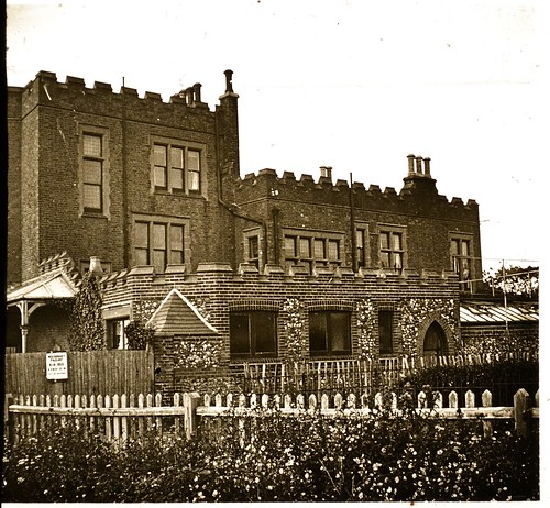 Bleak House, Broadstairs 1910s r - A haunt of Charles Dickens.