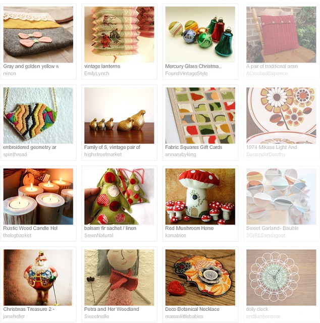 a warming glow, Etsy tresury curated by Emma Lamb