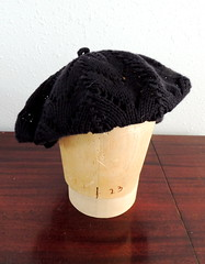 "Slouchy Beret - ""Finished"""