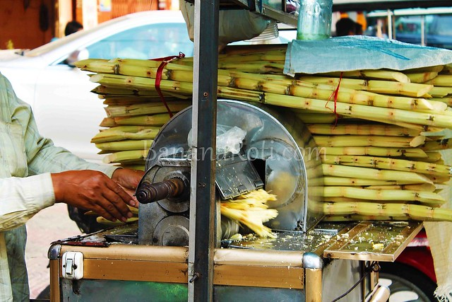 Sugarcane Juice in Cambodia