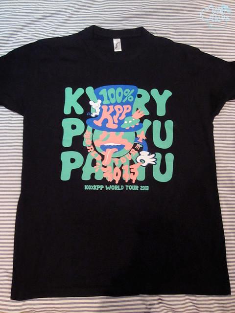 100% KPP ☆ きゃりーぱみゅぱみゅ tour T-shirt