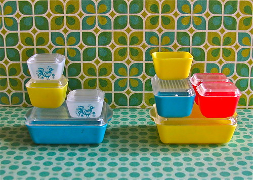Miniature Refrigerator Dishes