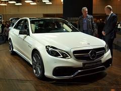 sports car(0.0), automobile(1.0), automotive exterior(1.0), executive car(1.0), mercedes-benz w212(1.0), wheel(1.0), vehicle(1.0), automotive design(1.0), mercedes-benz(1.0), auto show(1.0), bumper(1.0), mercedes-benz e-class(1.0), mercedes-benz c-class(1.0), sedan(1.0), land vehicle(1.0), luxury vehicle(1.0),