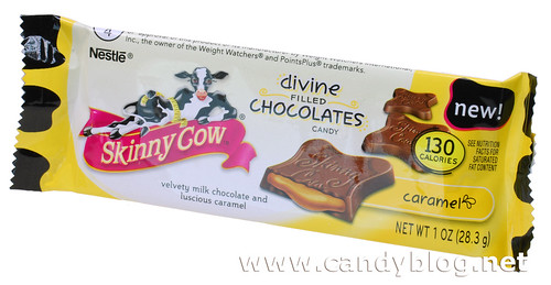 Skinny Cow Divine Filled Chocolates with Caramel