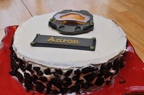 Halo Cake Decoration