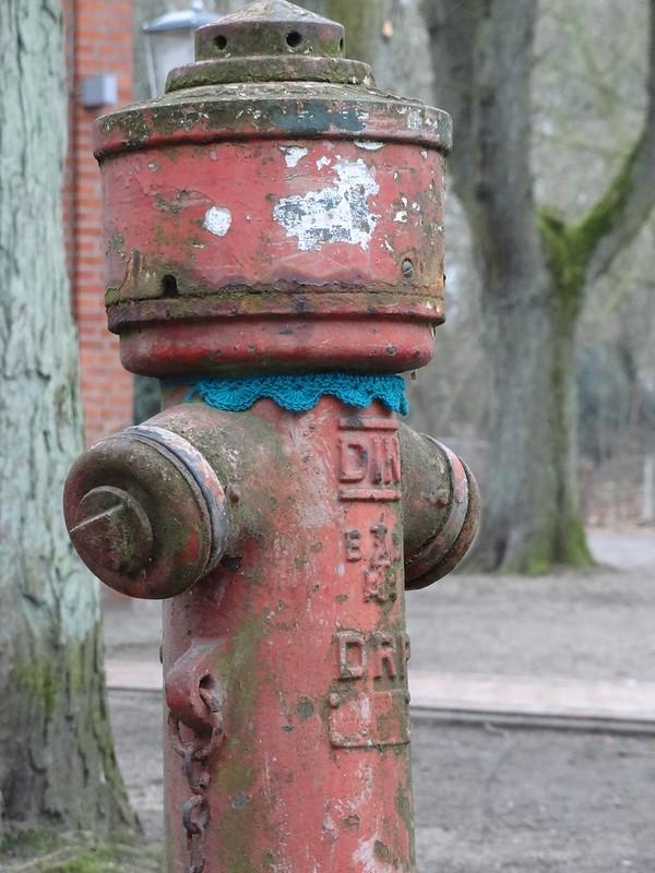 Muscheltag an Hydrant