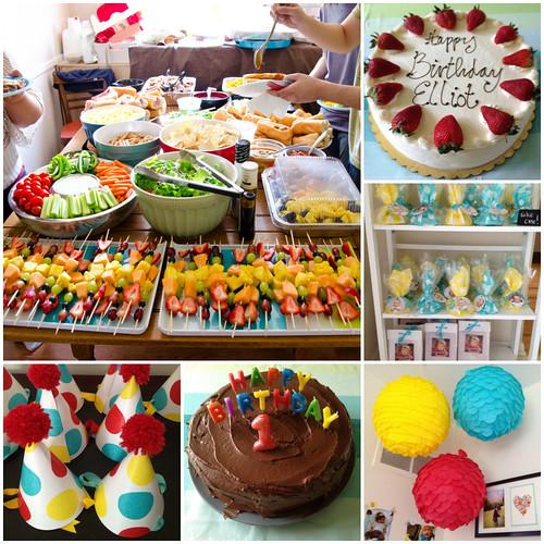 Yin Thinks: Elliot's 1st Birthday Party