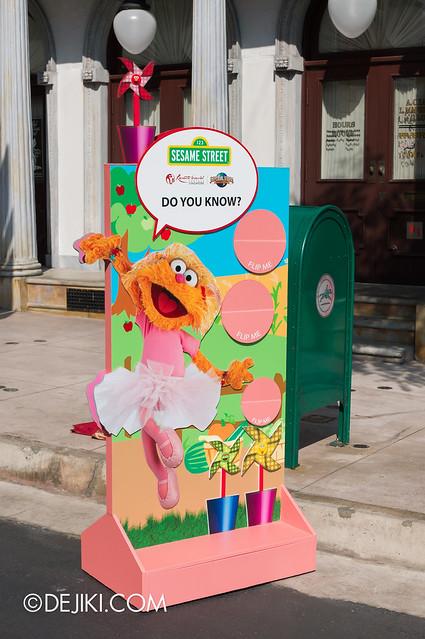 Sesame Street Trivia Stations