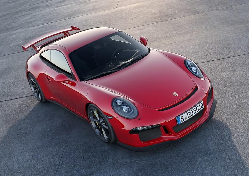 2014 Porsche 911 GT3 top left
