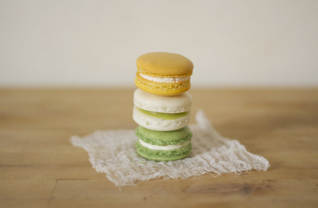 wedding macarons