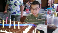 Anthony Already Blew The Candles Out!
