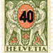 Switzerland postage stamp: Helvetia