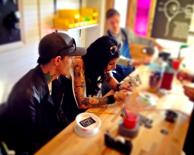 Thanks @SONOS for the DIY op with @TheKatVonD & @Deadmau5 today #SONOSStudioSXSW #SXSW