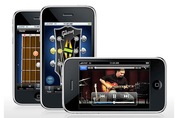 Gibson Learn & Master Guitar Application