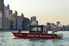 Chicago Fire Department boat