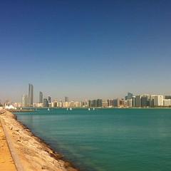 #abudhabi skyline