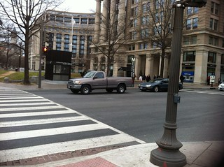 7th and Indiana cross walk