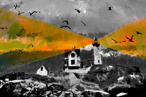 nubble light york maine colorized black white enlarged manipulated photoshop flickr google bing yahoo image facebook stumbleupon national geographic bird flying montage real beam shops sea daum colorful imaginztion unique crazy colors bright cheerful happy hue saturation blend rich photo pin android colourful red blue green air eye art landscape interesting creative color surreal avant guarde