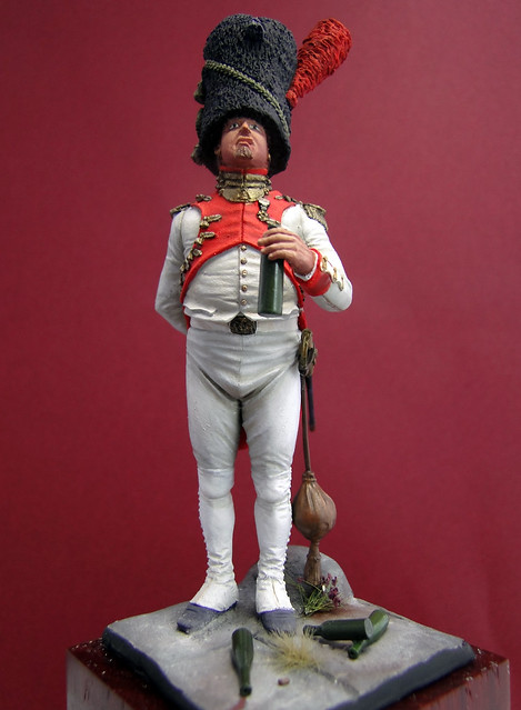 Oficial Granaderos Holandés, Guardia Imperial, 1804-1812 - Art Girona 8562144393_831f43de93_z