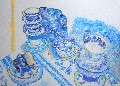 Julie's Blue China