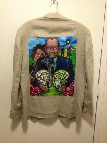 """""""Hemispheres"""" a jacket for Gonzalo Bacigalupe"""