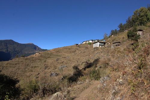 nepal mountains trekking asia asien outdoor hiking berge himalaya wandern himalayas sanam