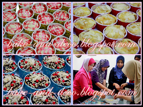Baking & Deco Class: Variety Cupcakes ~ 2 August 2012