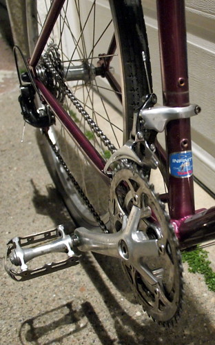 Mixed drivetrain
