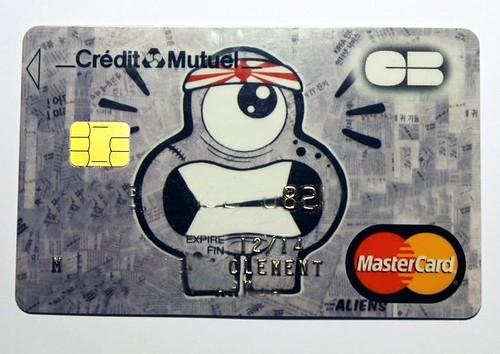 Kamikaze on Mastercard !